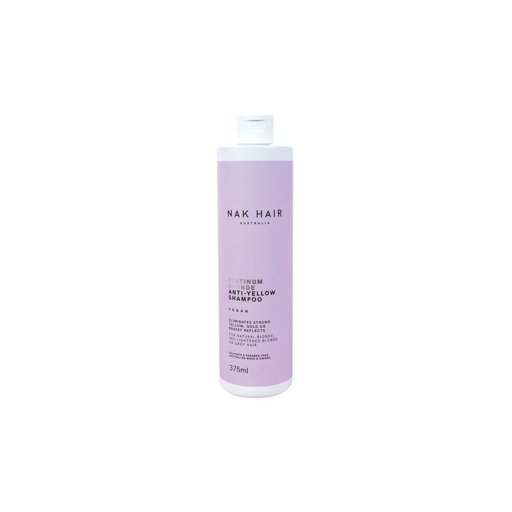 Nak Signatures Platinum Blonde Shampoo 375ml