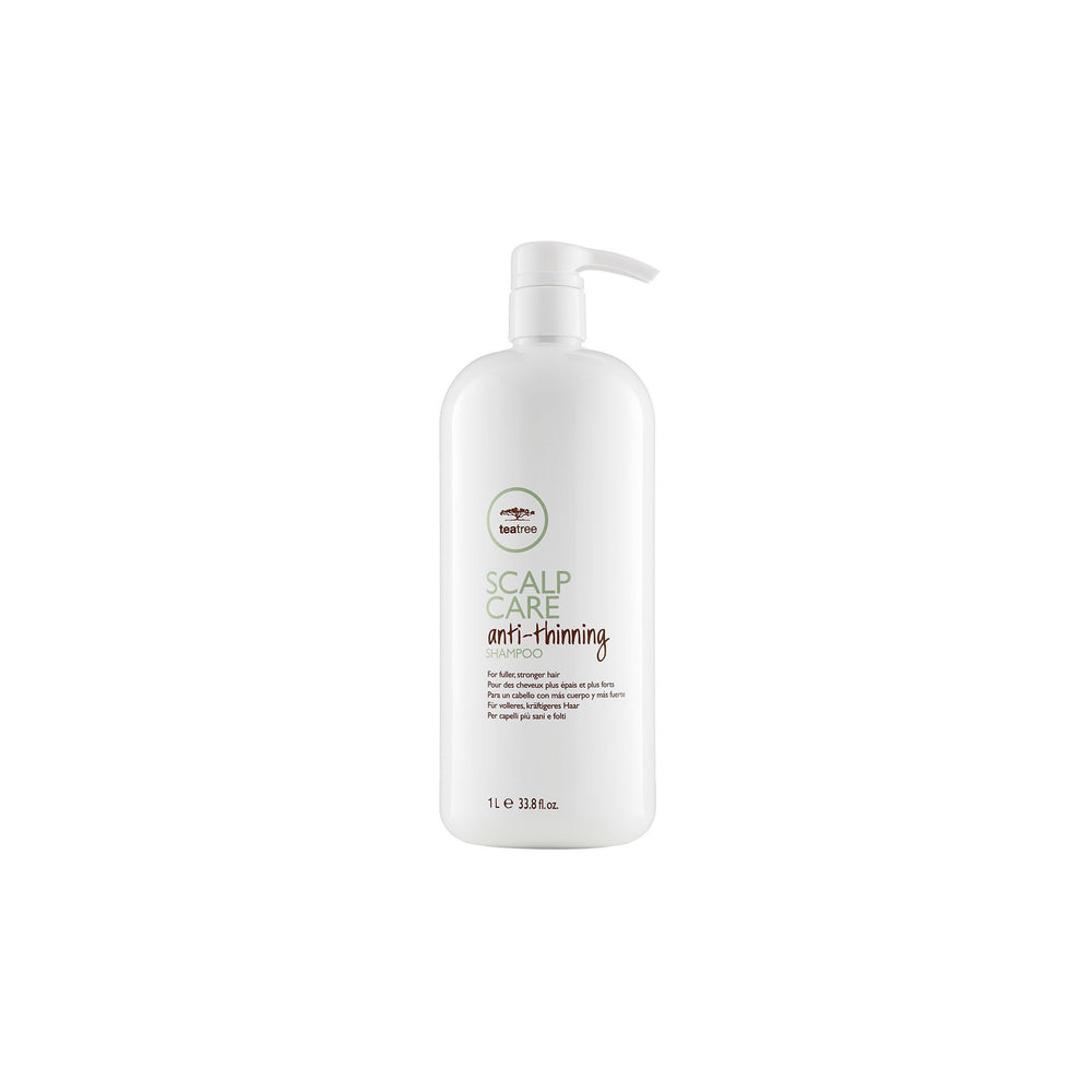 Load image into Gallery viewer, Paul Mitchell Tea Tree Scalp Care Anti-Thinning Shampoo 1L