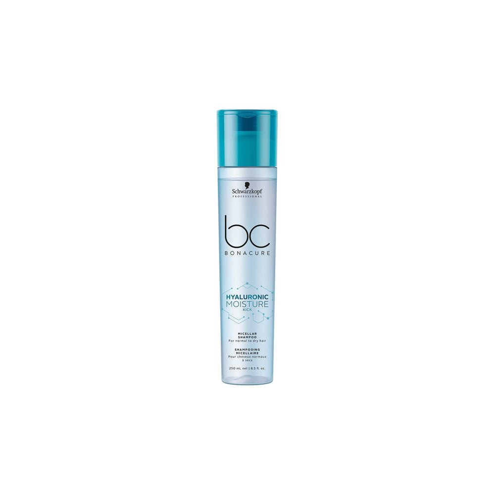 Load image into Gallery viewer, Schwarzkopf BC Hyaluronic Moisture Kick Micellar Shampoo 250ml