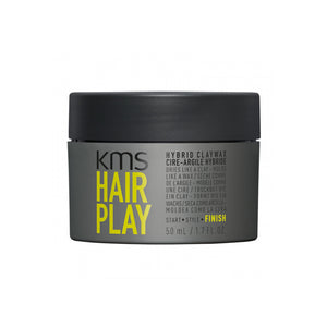 Load image into Gallery viewer, KMS California Hairplay Hybrid Claywax 50ml