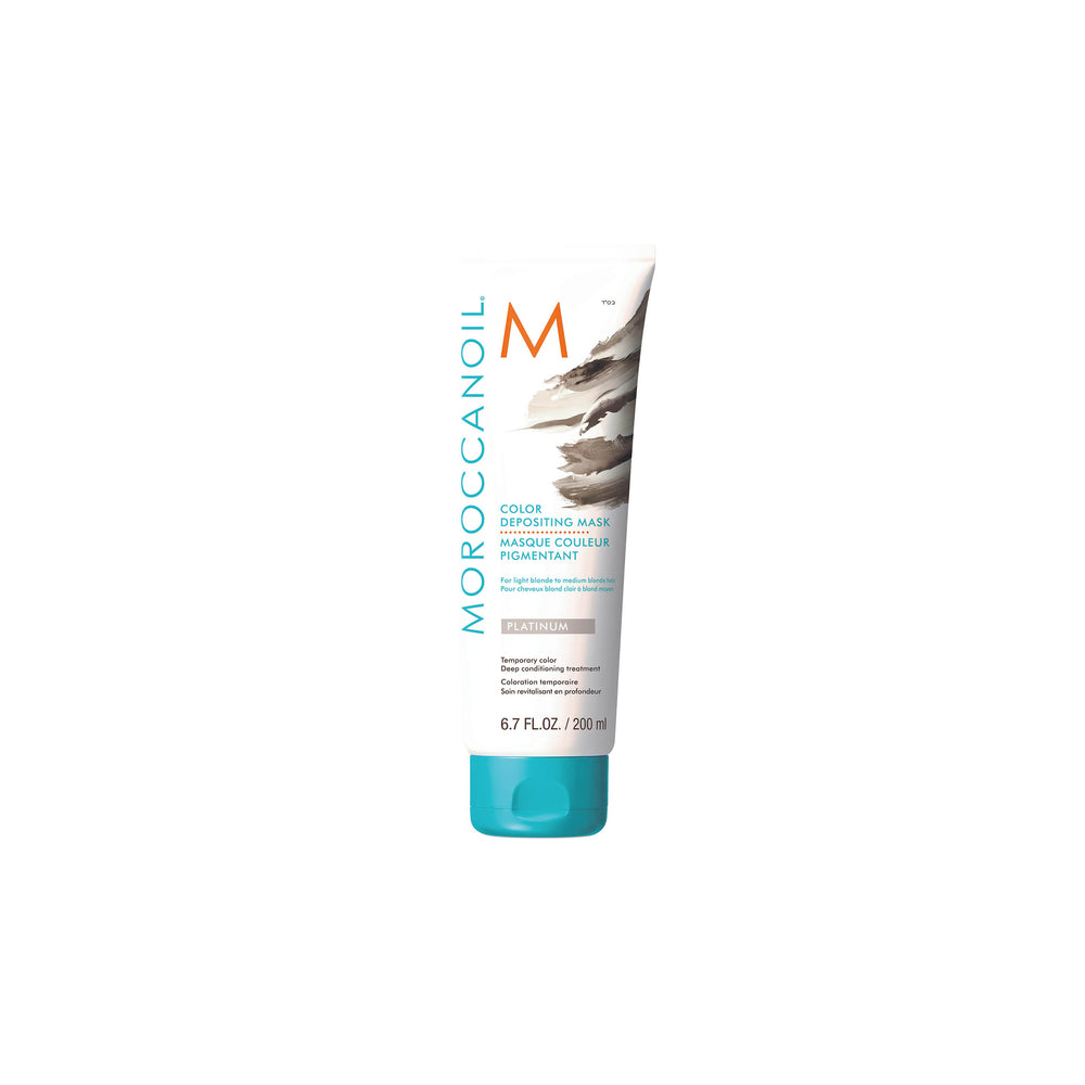 Moroccanoil Color Depositing Mask 200ml - Platinum
