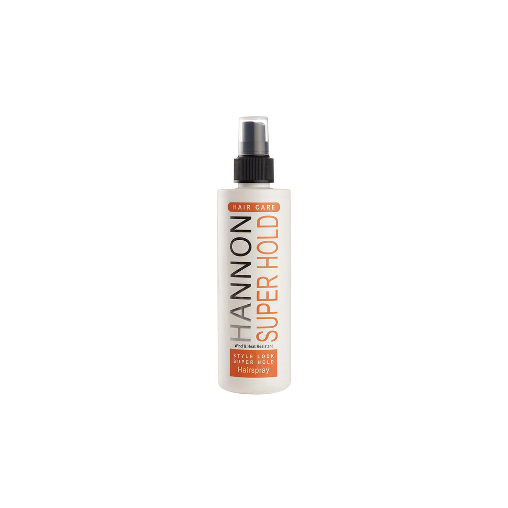 Hannon Style Lock Super Hold Hairspray 250ml