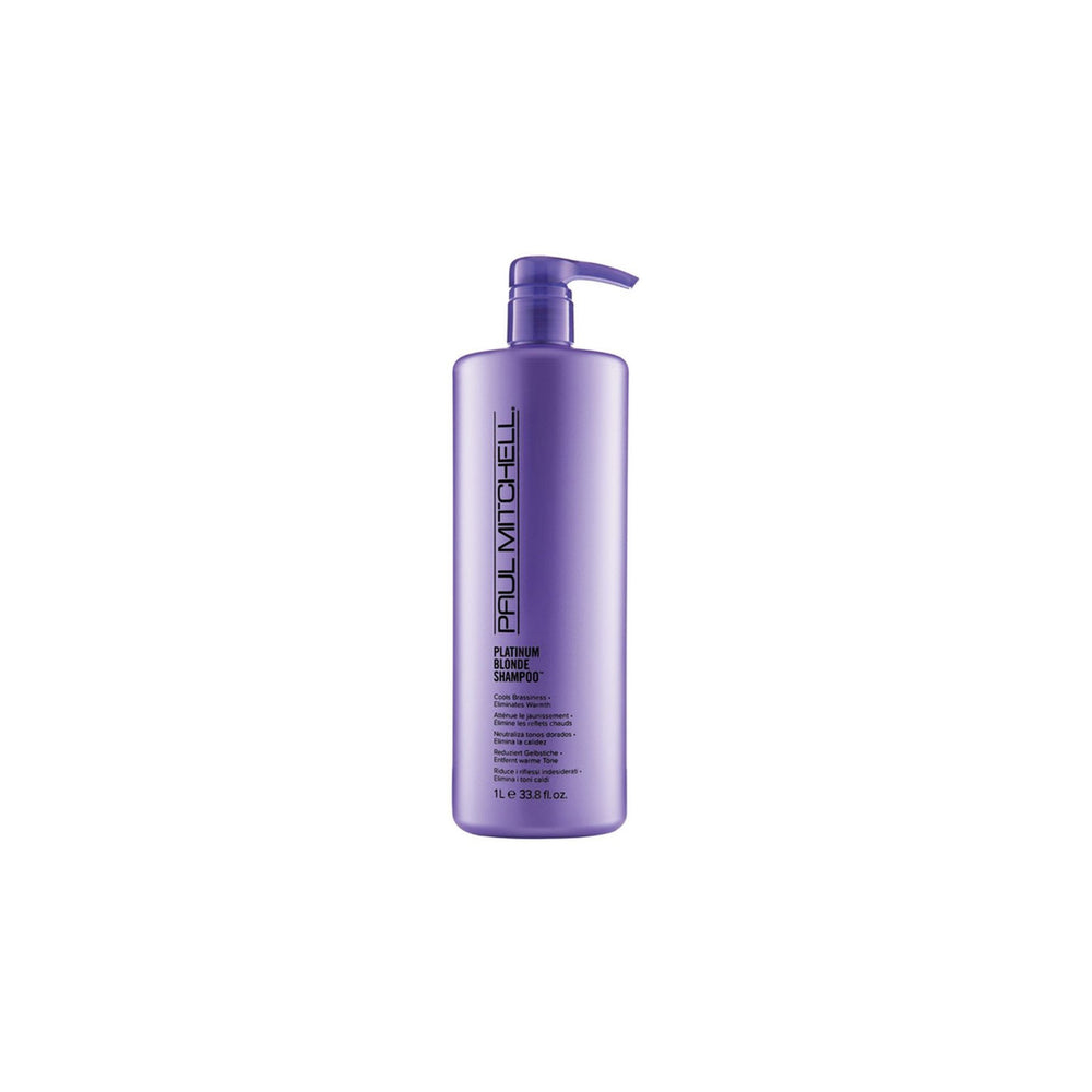 Load image into Gallery viewer, Paul Mitchell Platinum Blonde Shampoo 1L