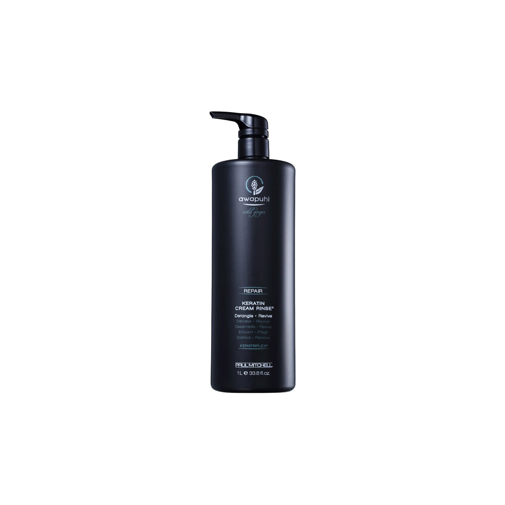 Load image into Gallery viewer, Paul Mitchell Awapuhi Wild Ginger Keratin Cream Rinse 1L