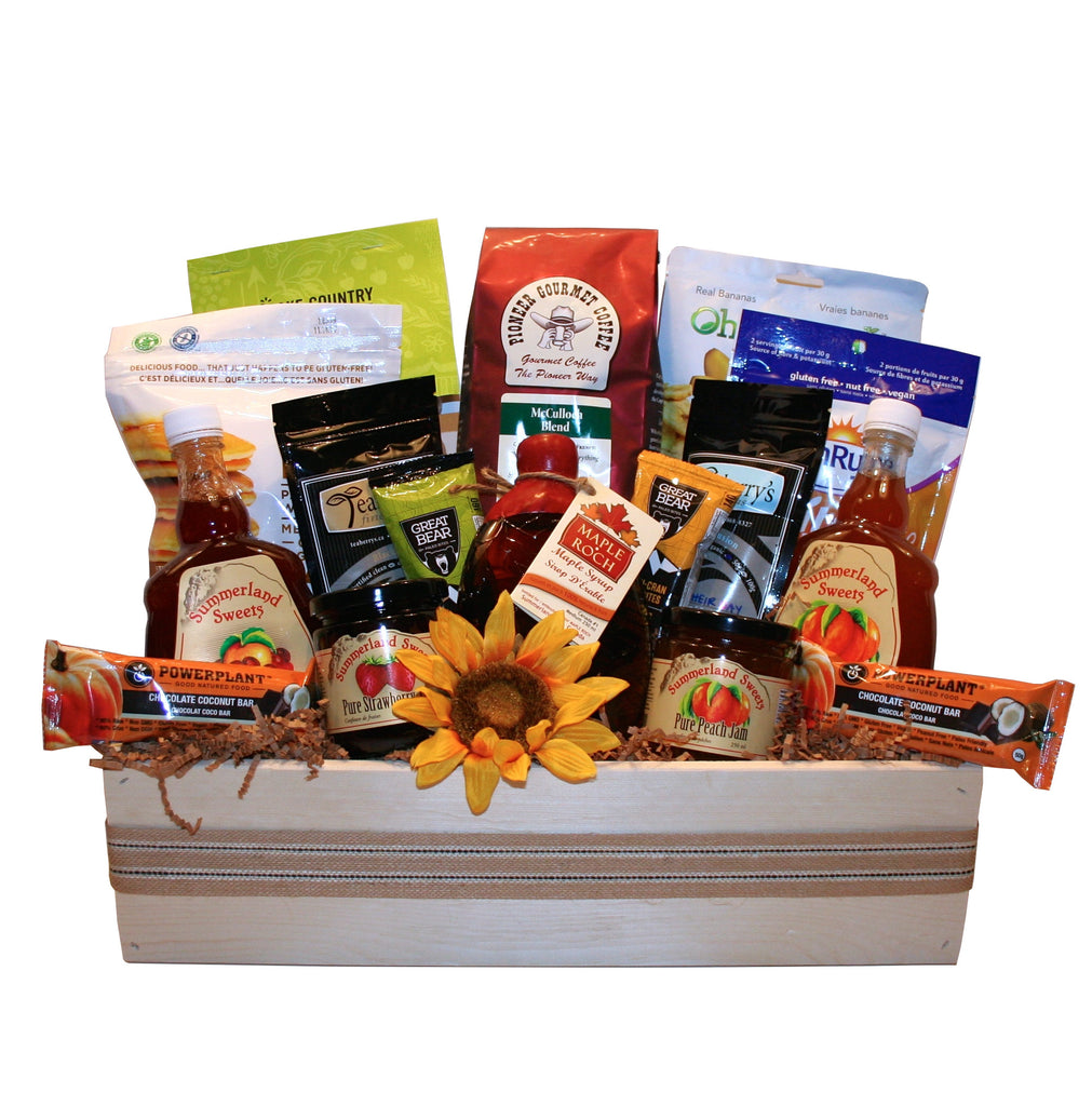 Breakfast crate gluten free brighten their day okanagan gift breakfast crate gluten free negle Choice Image