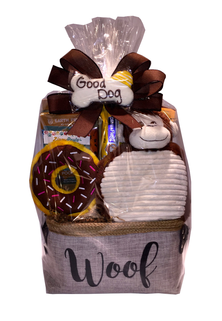 Furry Friends Gift Basket