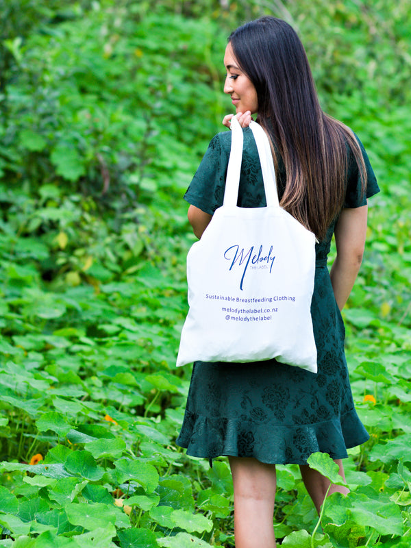 Tote Bag ~ Organic Cotton/Hemp