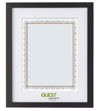 Quest Diploma Frame
