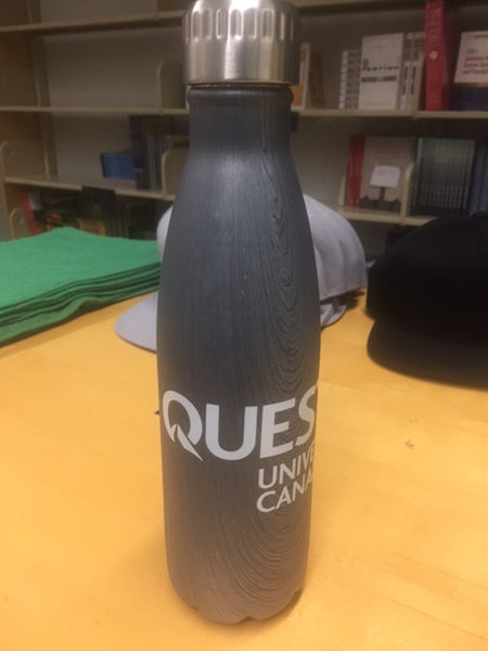 Quest Water Bottle Grey 17oz.