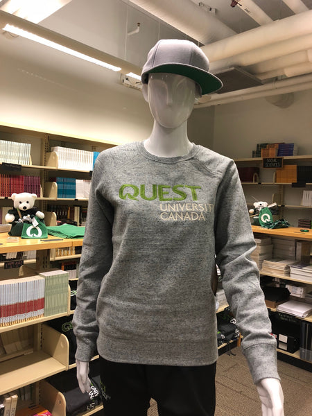 Quest Crewneck Women's Fleece with Embroidered Logo