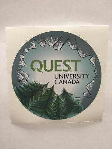 "Quest Sticker 4""X4"" (Tree Sticker)"
