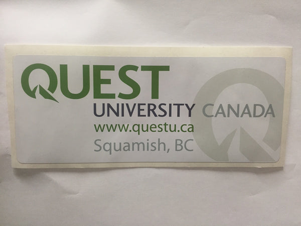 "Quest Sticker 7""X2.75"" (Large Rectangle)"
