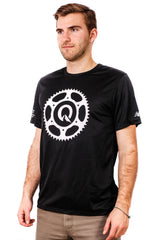 Quest Men's Bike T-Shirt - Black or Grey