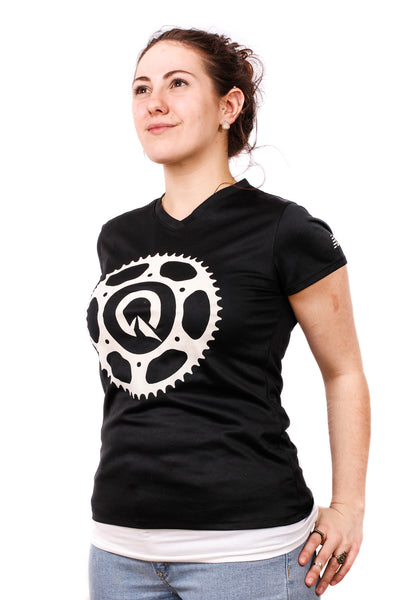 Quest Women's Bike Shirt - Black or Grey