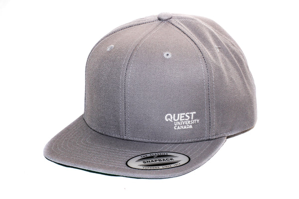 Quest Snapback Hat with Embroidered Logo