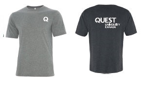Quest Men's Cotton Grey T-Shirt