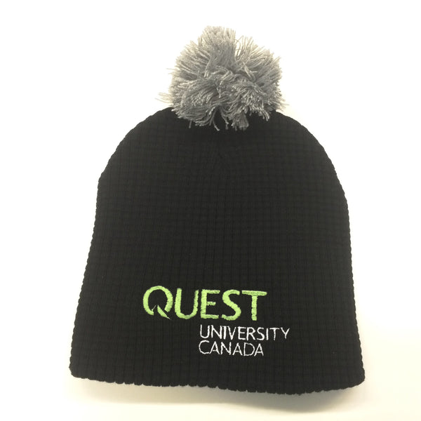 Quest Short Toque with Pom Pom