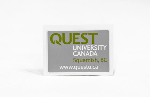 "Quest Sticker 2.5""x3.5"" (Small Rectangle)"