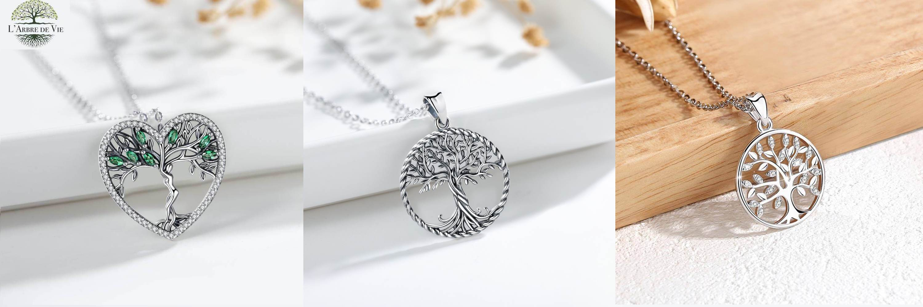 Collection colliers pendentifs arbre de vie shop