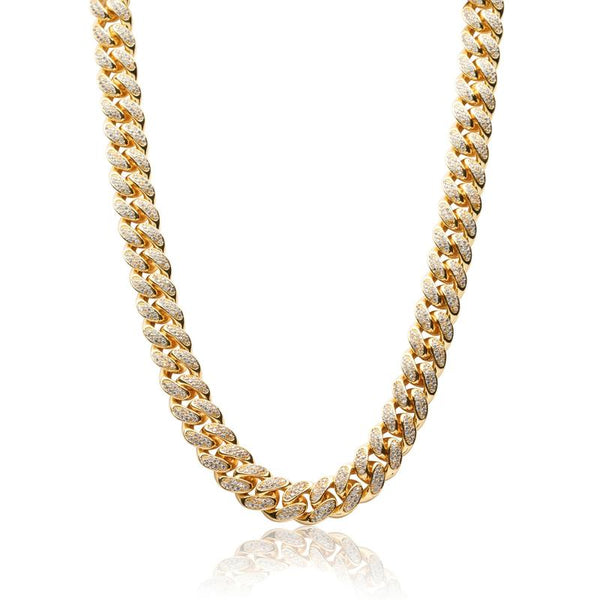 Local Diamond Cuban Chain (Gold)