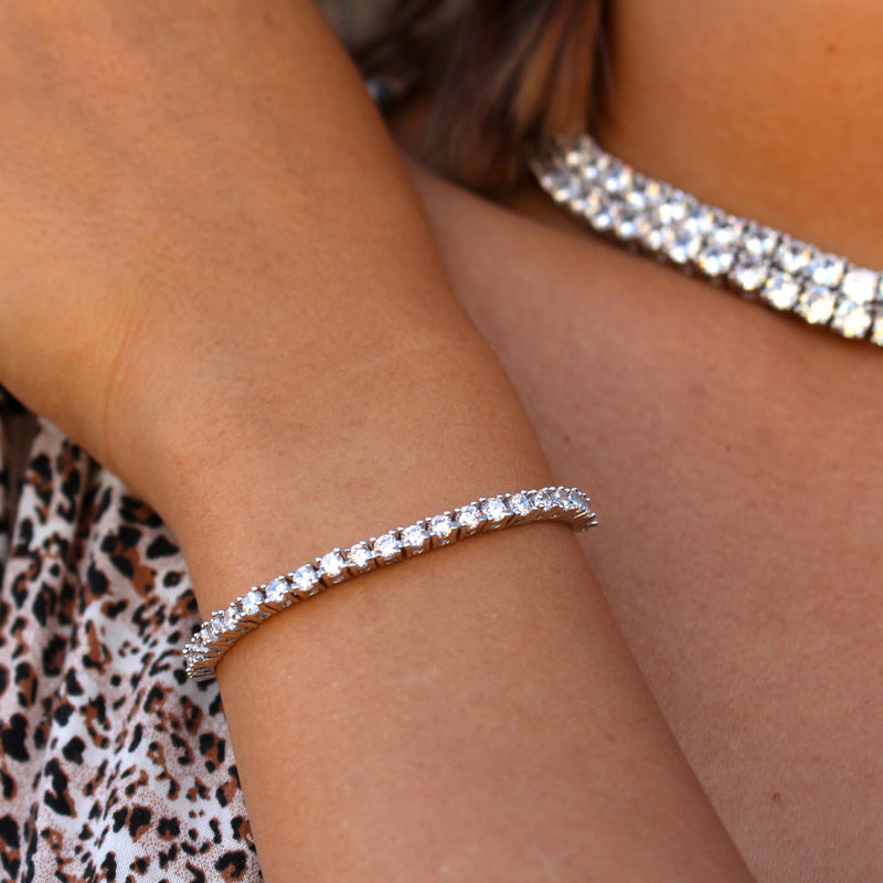 The 3mm Tennis Bracelet - Stay Gold Hawaii