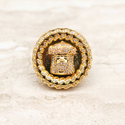 Blessed Jesus Ring - Stay Gold Hawaii