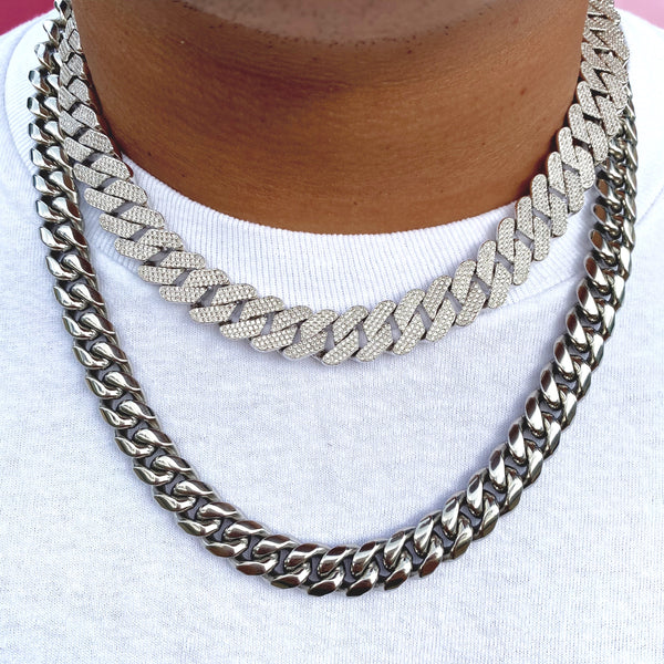 Iced Local Prong Cuban Chain