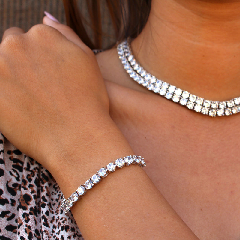 The 5mm Tennis Bracelet - Stay Gold Hawaii