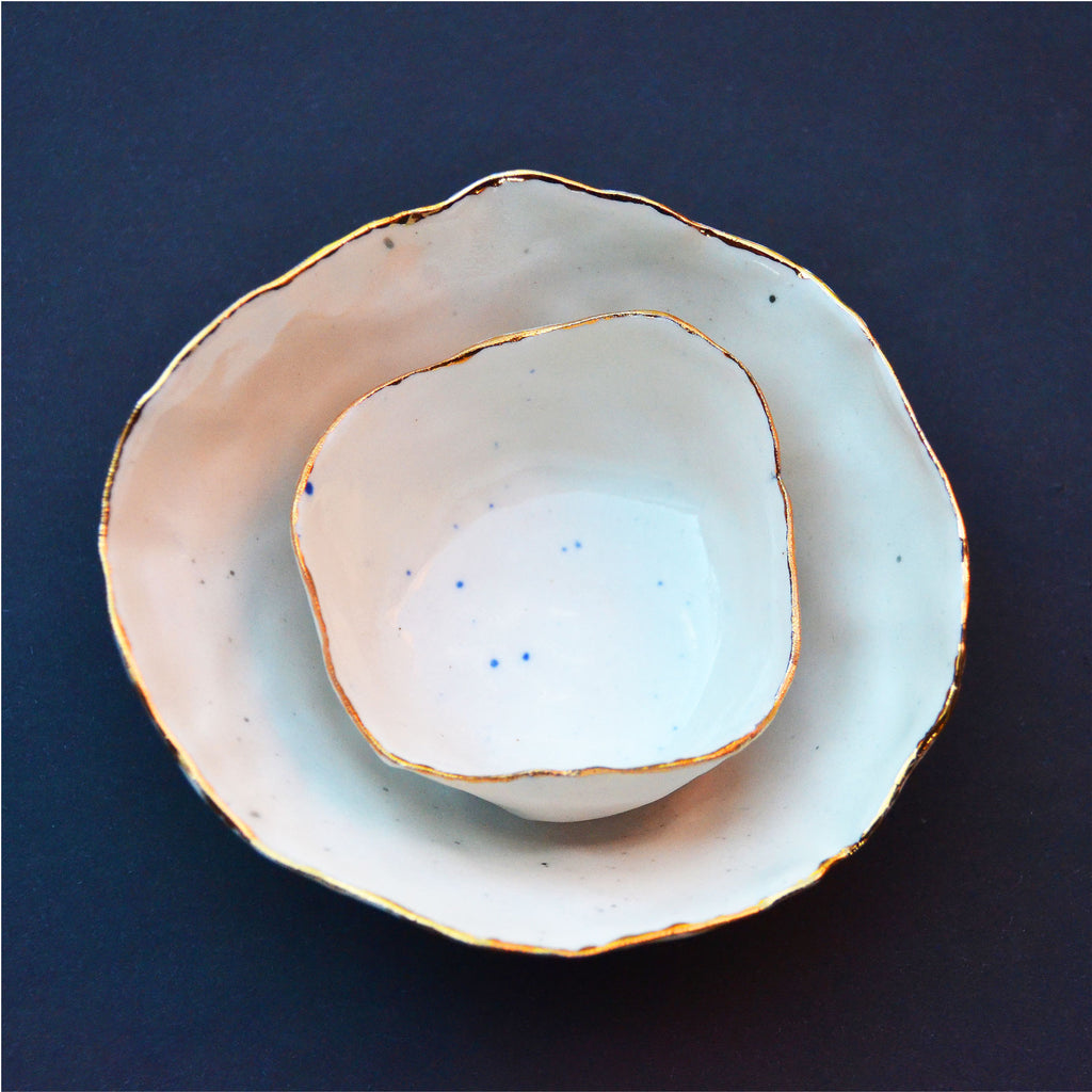 Speckle Bowl Set