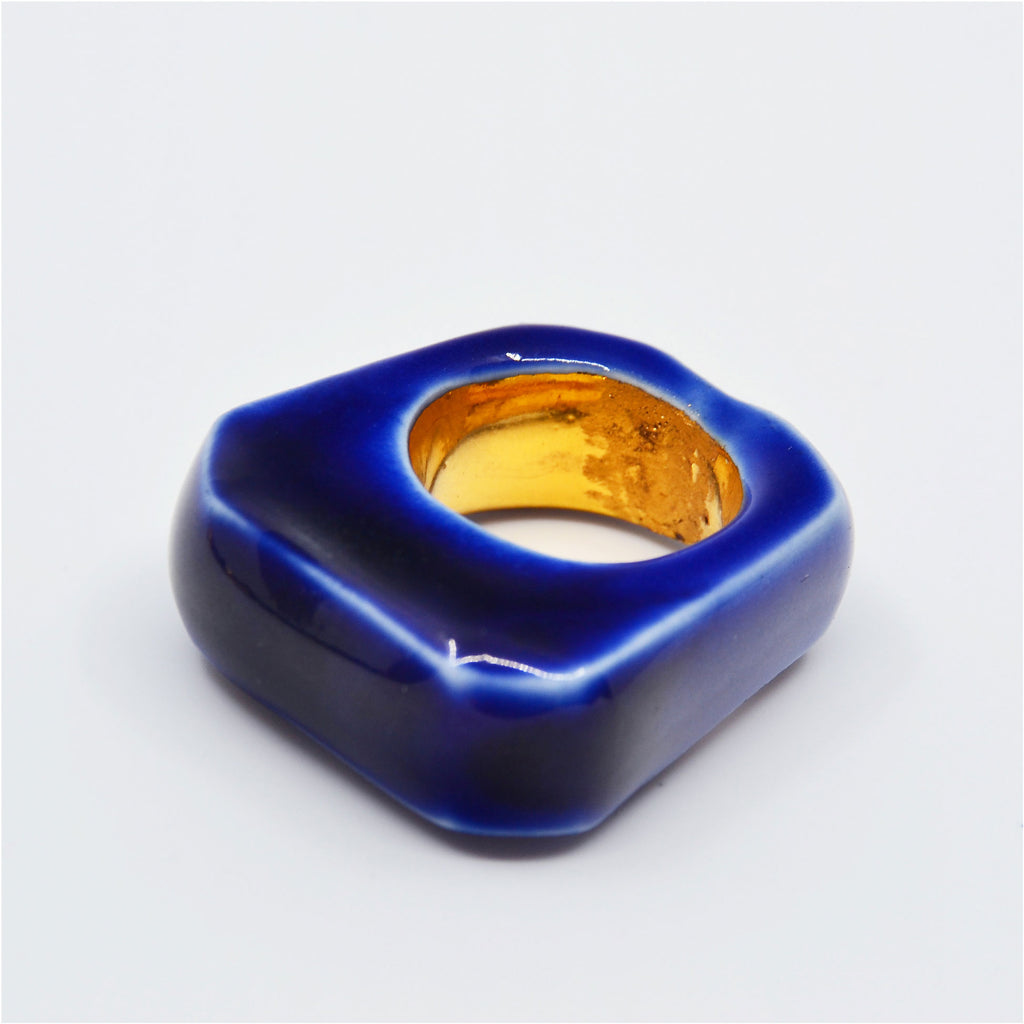 Blue Jay Ring Size 6 1/2