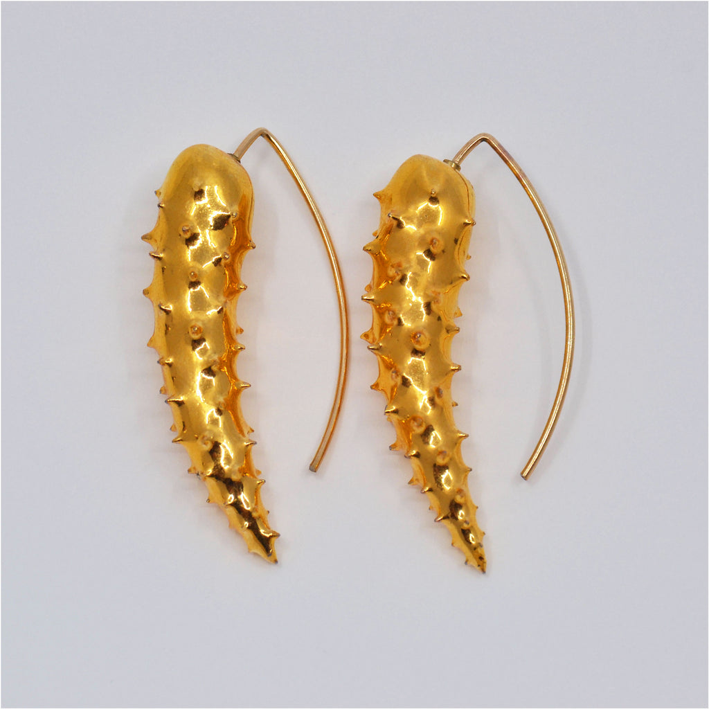 Iconic Earrings Shiny Gold
