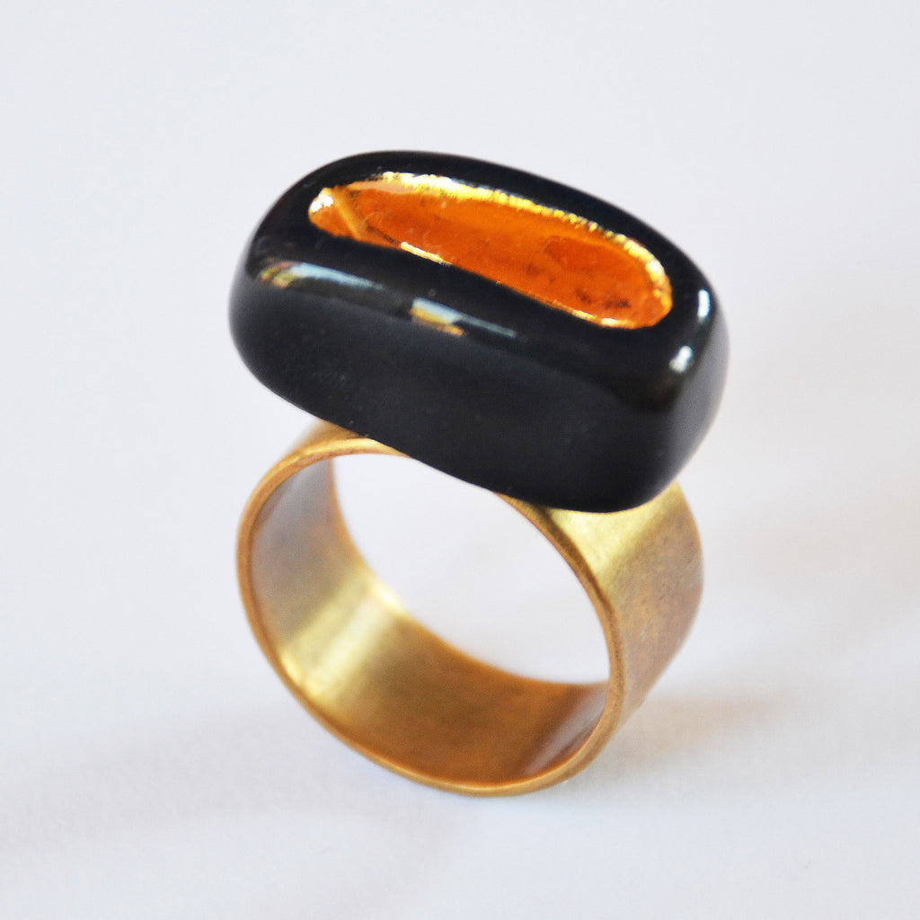 Gold Mine Ring size 7¾