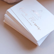 85x55mm Digitally Foiled Single Sided Business Cards