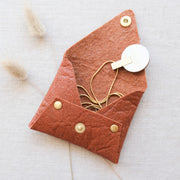 80mm Vegan Leather Jewellery Pouch