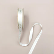 Luxury Bridal White Recycled Ribbon - 20m