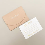 A6 Digitally Foiled Voucher, With Custom Envelope Pocket