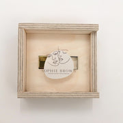 Natural Birch USB Box (UV Printed Logo)