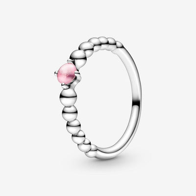 Anello rosa decorato con sfere - gioielleriaperdichizzi.it