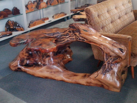 "Swamp Kauri - ""THE DRAGON COFFEE TABLE"""