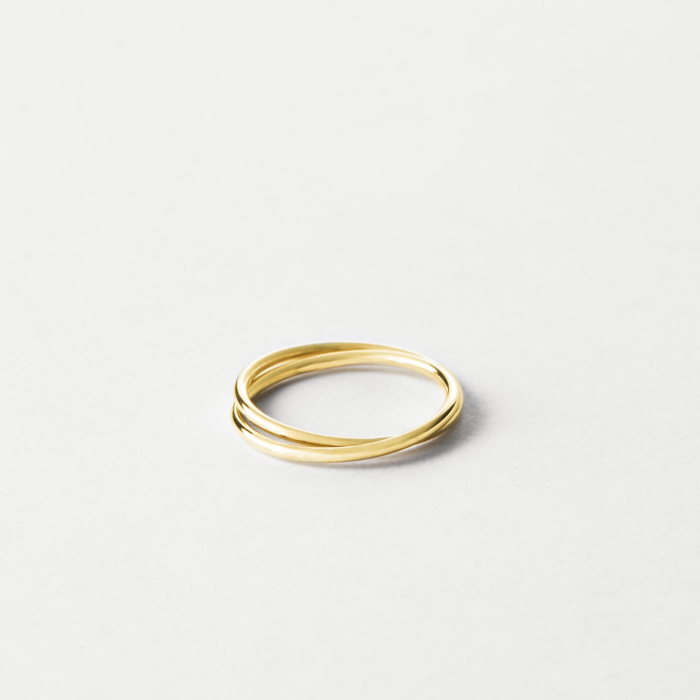 Gold Filled Flat Ring ~ Size N