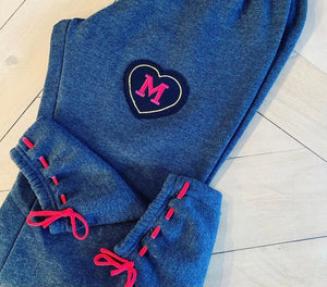 Heart Patch Sweatpants