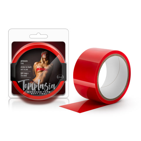 Temptasia Bondage Tape 18m Red
