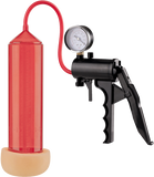"Lust Pumper 8"" Pump W/ Gauge (Vagina) (Red)"