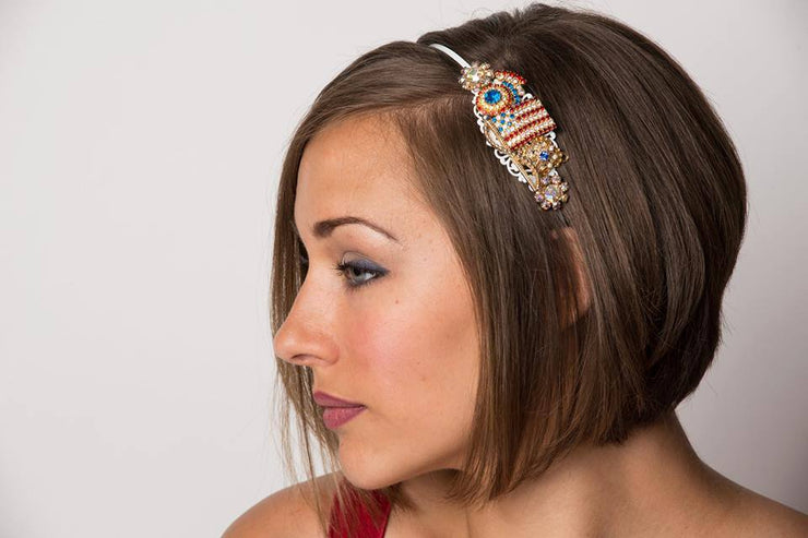 The American Flag Vintage Jewelry Collection Headband