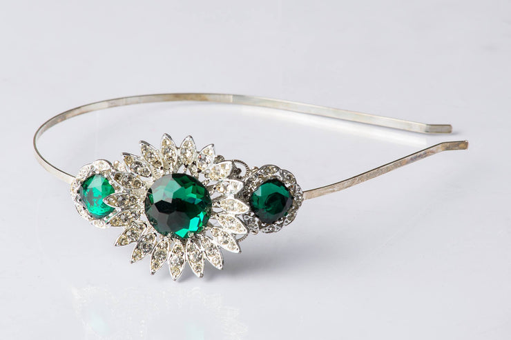 The Emerald Isle Vintage Jewelry Collection Headband