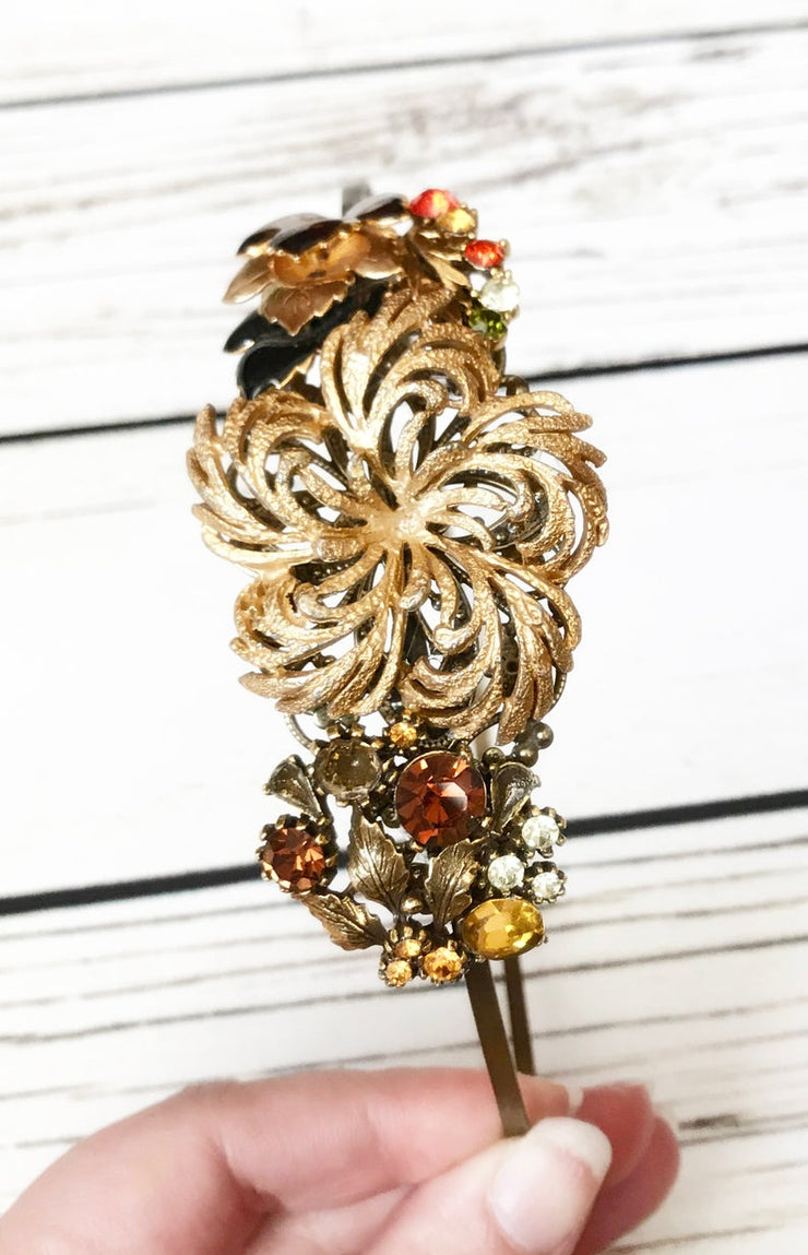 The Autumn's Whisper Vintage Jewelry Collection Headband