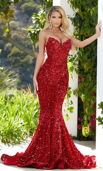 Portia & Scarlett Style PS21208- Red