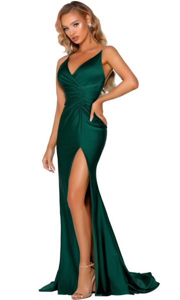 Portia & Scarlett PS6322 Gown- Emerald