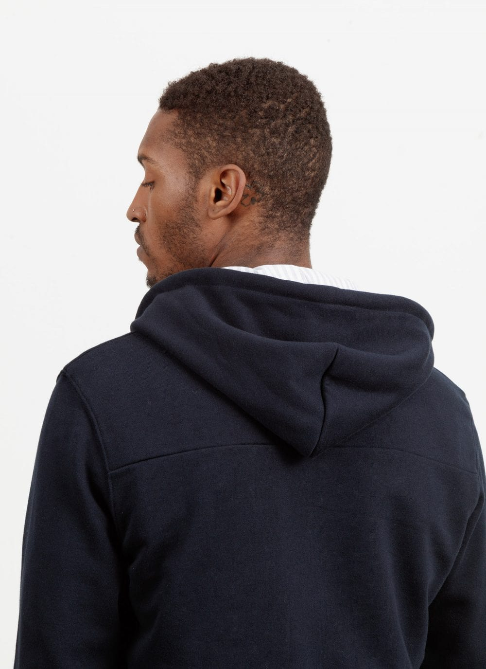 The Classic Hood || Navy-Gold-Edition | Marmi Stripe