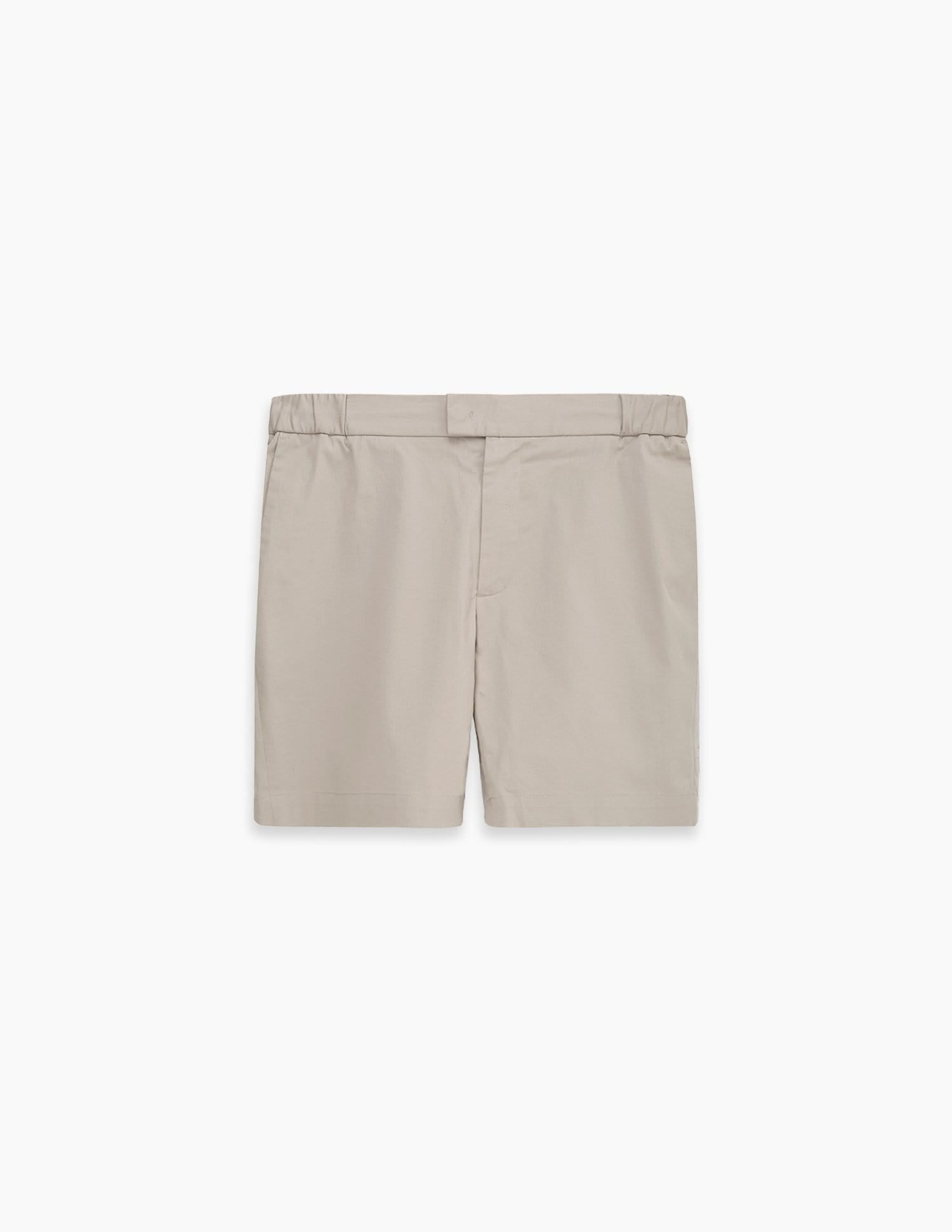 The 12 Shorts || Beige | Stretch Cotton
